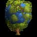 Green Globe Tree-icon