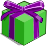 Green Mystery Box-icon