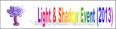 Light and Shadow Event (2013) Event Banner