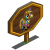 Mardi Gras Mini Foal Mastery Sign-icon