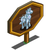 Rainbow Prism Horse Mastery Sign-icon