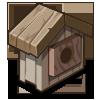 Warm Birdhouse-icon