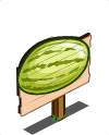 Yellow Watermelon Mastery Sign-icon