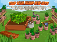 Herb Garden Loading Screen