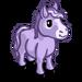 Purple Mini Horse-icon