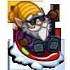 Sledding Gnome-icon