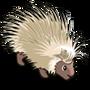 White Porcupine-icon