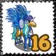 Blue Tint Pegacorn Stamp-icon