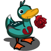Broken Heart Duck-icon