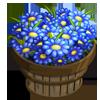 Blue Daisy Bushel-icon