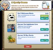 A Spooky Season MISSION