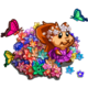 Chipmunk Flower Bath-icon