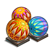 Colorful Temari-icon
