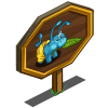 Fanning Pig Mastery Sign-icon