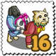 Pumpk Gift Doggy Stamp-icon