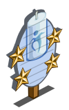 Spring Meadow Candle 4 Star Mastery Sign-icon