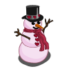 Valentine Snowman-icon