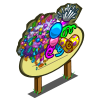 Giant Confetti Tree Mastery Sign-icon