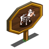 Referee Cow Mastery Sign-icon