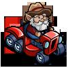 Tractor Gnome-icon