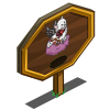 Black Cupid Cat Mastery Sign-icon