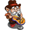 Rocking out Gnome-icon