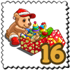 Very Merry Bear Stamp-icon