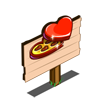 Chocolate Hearts Mastery Sign-icon