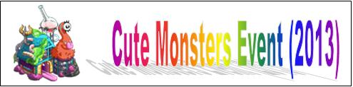 CuteMonstersEvent(2013)EventBanner