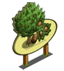 Hazelnut Tree Mastery Sign-icon