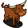 Longhorn Cow-icon