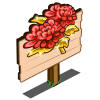 Red Chrysanthemum Mastery Sign-icon