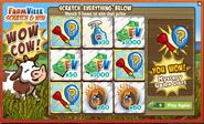 Scratch & Win Mystery Game Dart