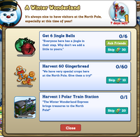 Winter Wonderland North Pole Quest 1 Initial Message-icon