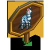 Zig Zag Zebra Mastery Sign-icon