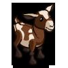 Brown Spot Goat-icon
