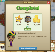 Doubloons! Complete Message
