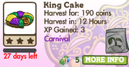 King Cake Market Info