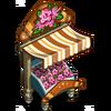 Pink Myrtle Flower Stall-icon