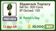 Shamrock Topiary Market-info