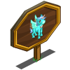 Cool Mint Pegacorn Foal Mastery Sign-icon
