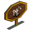 Pinto Pony Foal Mastery Sign-icon