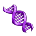 Purple DNA-icon