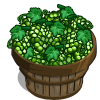 White Grapes Bushel-icon