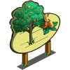 Wutong Tree Mastery Sign-icon
