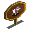 Flower Cow Mastery Sign-icon