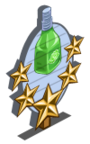 Green Rose Water Mastery Sign-icon