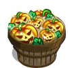 Jack O Lantern Lights Bushel-icon