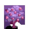 Pink Skull Tree-icon