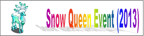 Snow Queen Event (2013) Event Banner